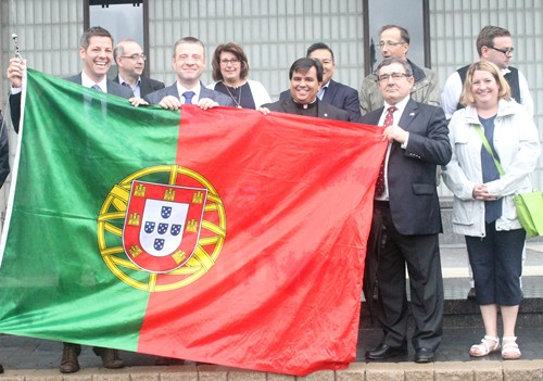 Dia de Portugal 2017: Cerimónia na City Hall de Winnipeg